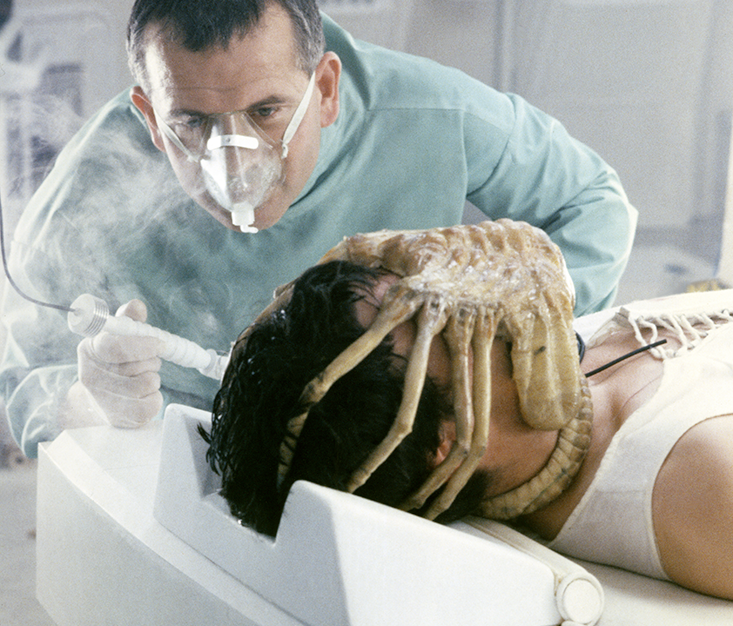Monster Mash The Face Hugger In Alien Taps Into Fears And Terrors Symbolized Folklore Religions Throughout Human History