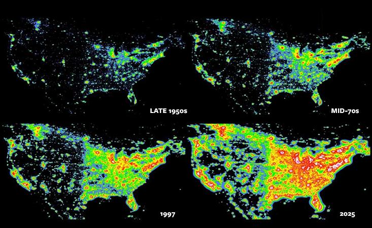 One Of The Most Popular Programs In The Us National Parks Revolves - Us-dark-sky-map