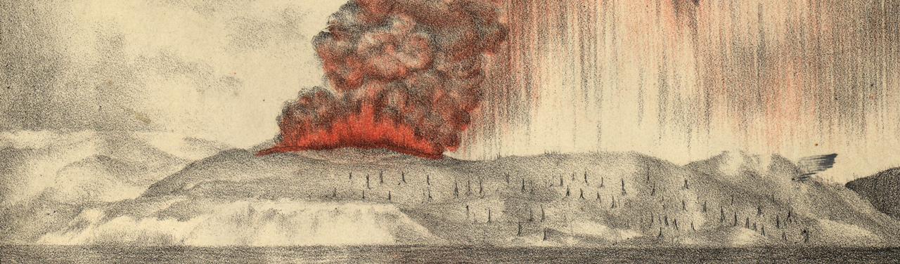 The Krakatoa Volcanic Eruption Was So Loud it Was Heard Round the World